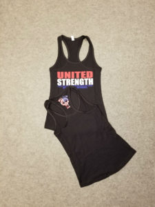 Womens United Strength Racerback